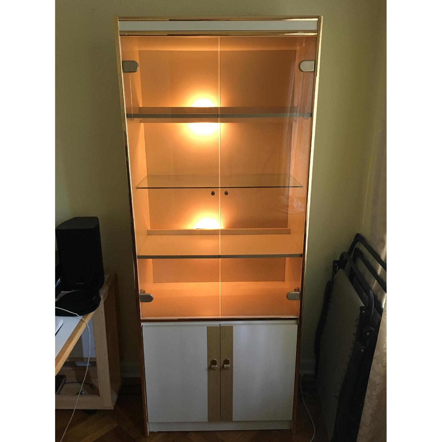 Tall Bookcase/Cabinet - image-1