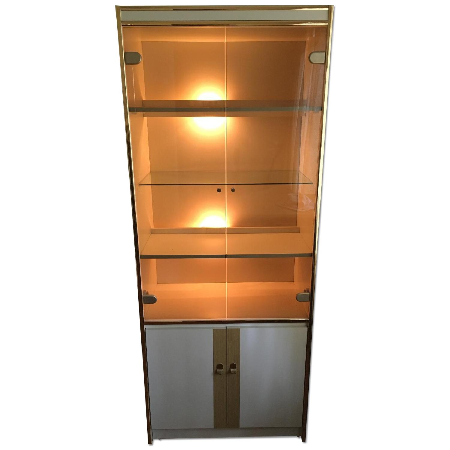 Tall Bookcase/Cabinet - image-0