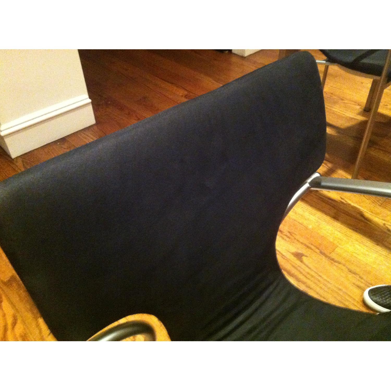 Suede & Aluminum Chair - image-5