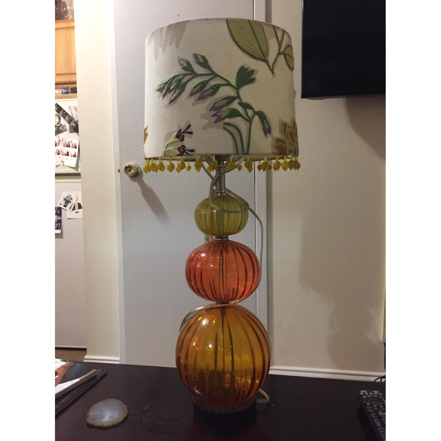 Anthropologie Table Lamp w/ Shade - image-1