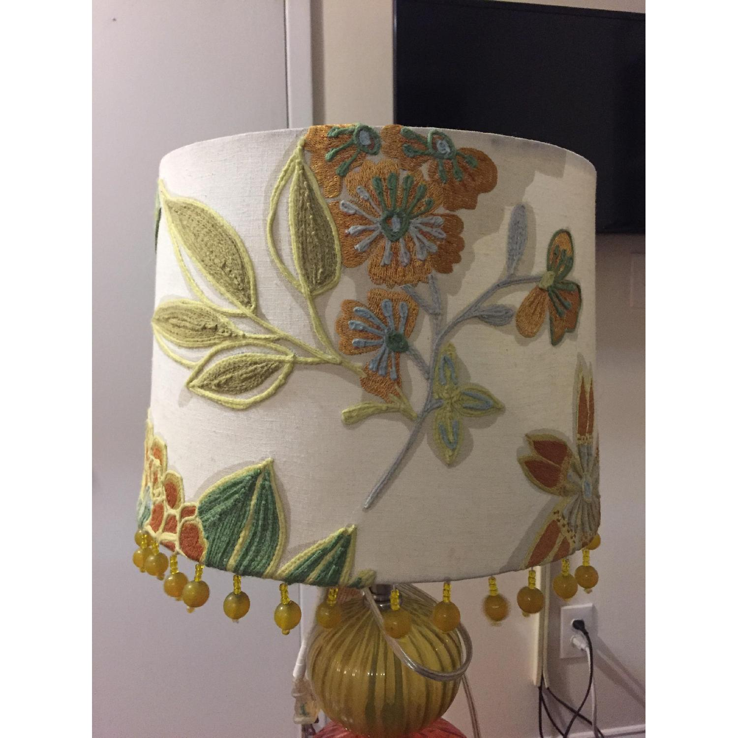 Anthropologie Table Lamp w/ Shade - image-2