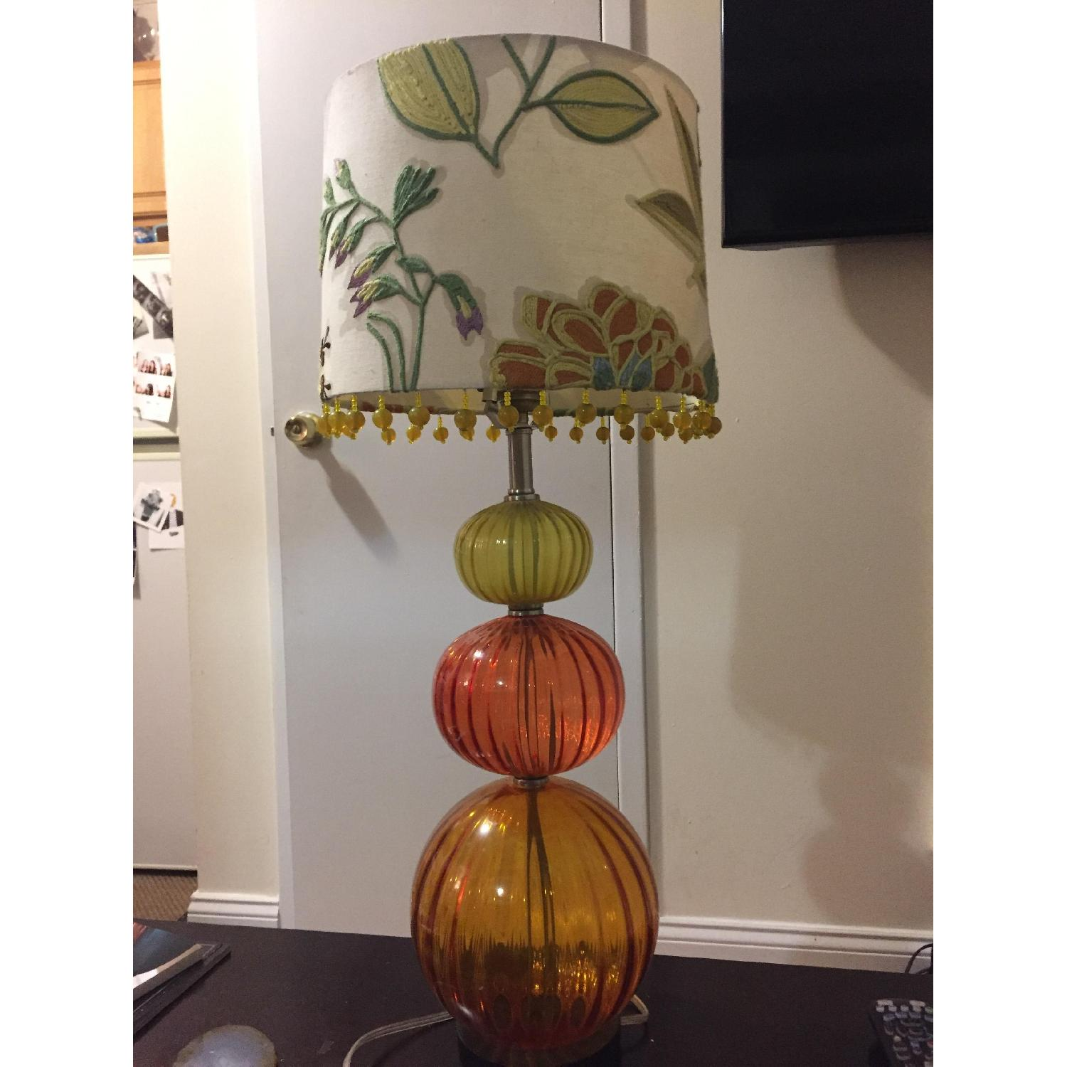 Anthropologie Table Lamp w/ Shade - image-4