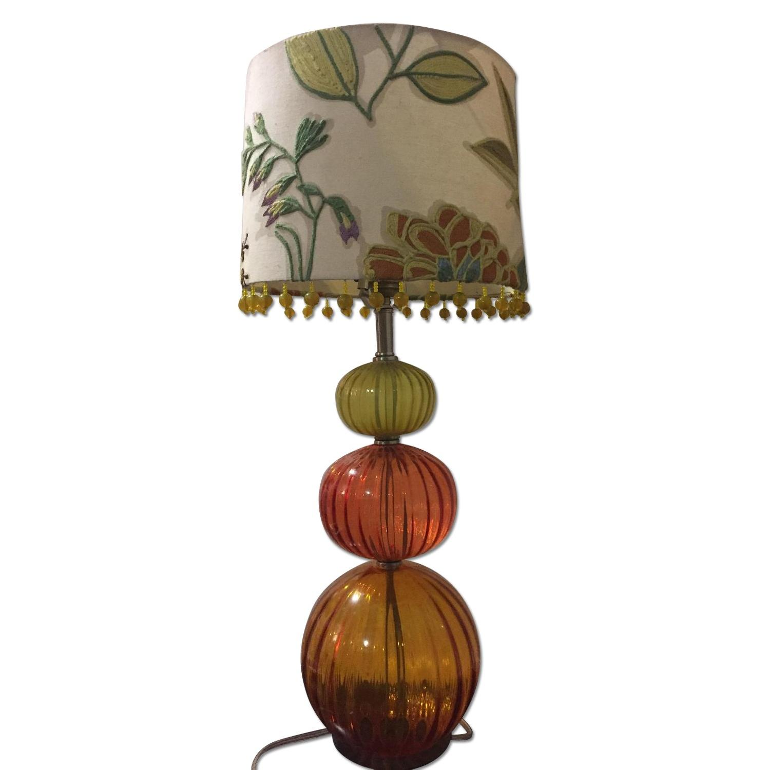 Anthropologie Table Lamp w/ Shade - image-0