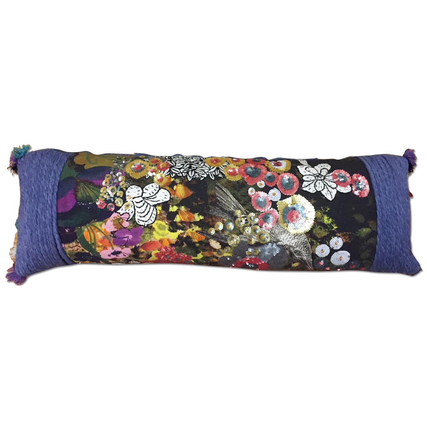 Anthropologie Sequin Pillow - image-0