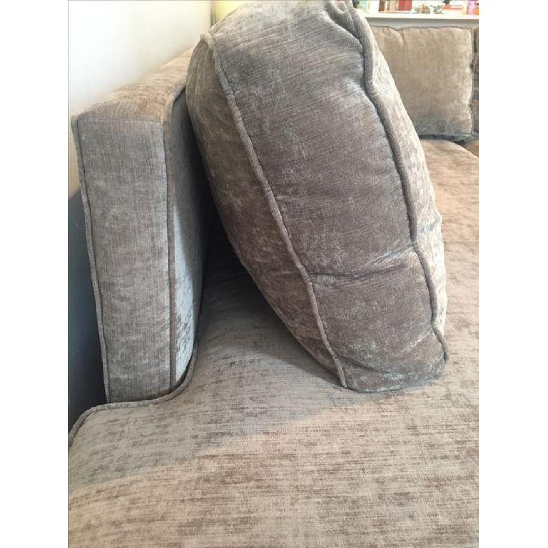Mitchell Gold + Bob Williams Sectional Sofa & Cushion - image-1
