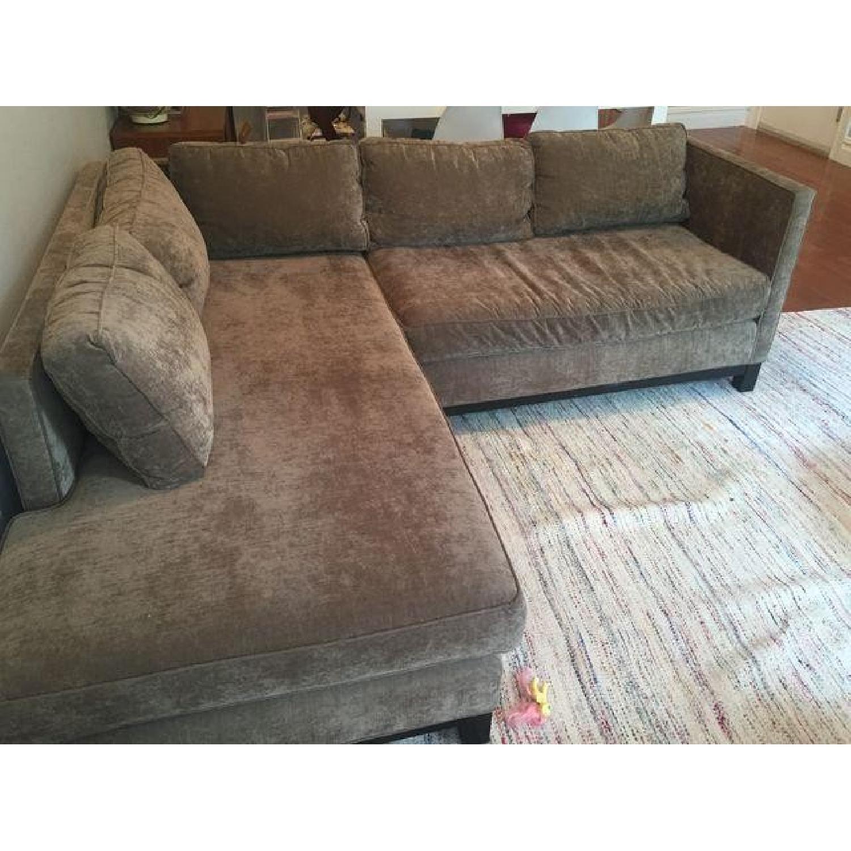 Mitchell Gold + Bob Williams Sectional Sofa & Cushion - image-4