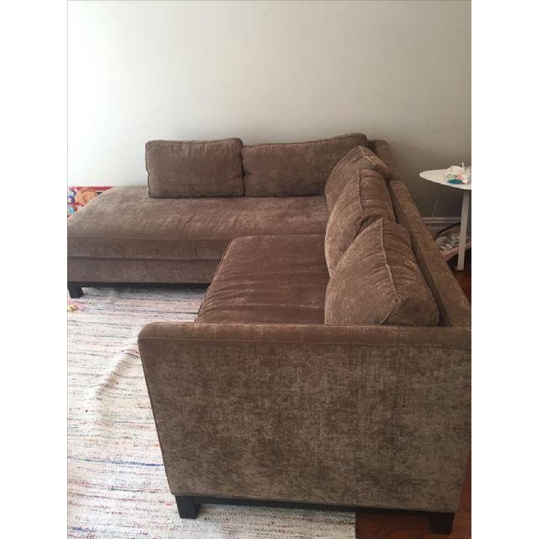 Mitchell Gold + Bob Williams Sectional Sofa & Cushion - image-5