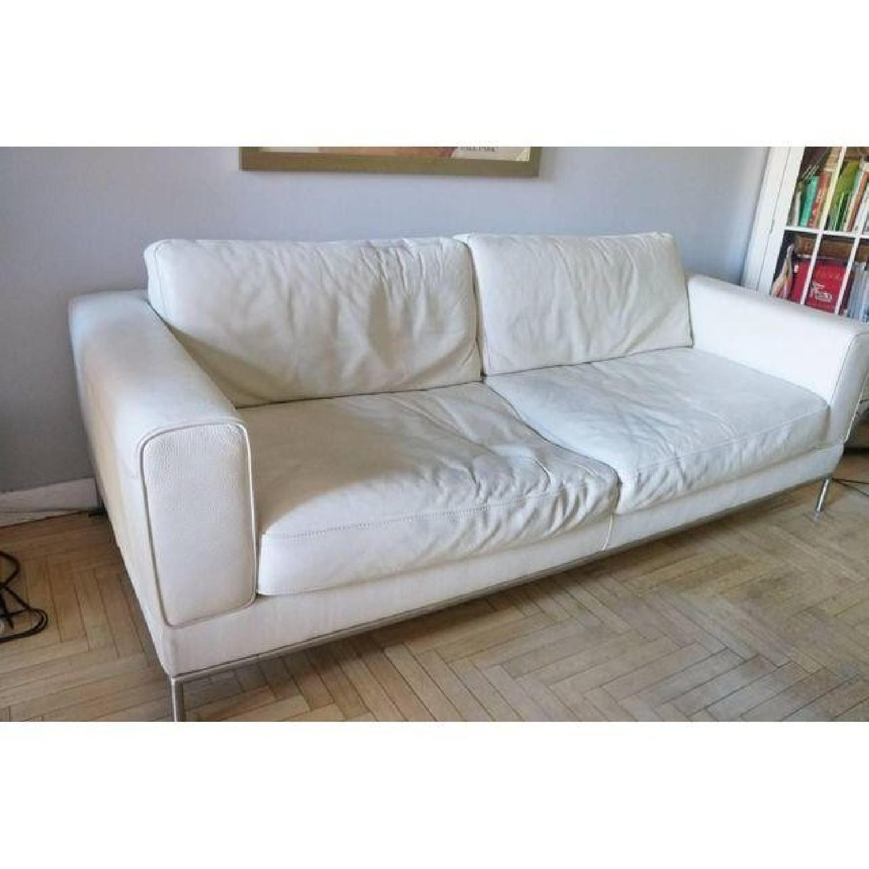 Natuzzi Leather Sofa - image-1