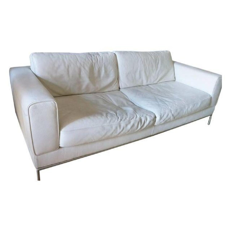 Natuzzi Leather Sofa - image-0