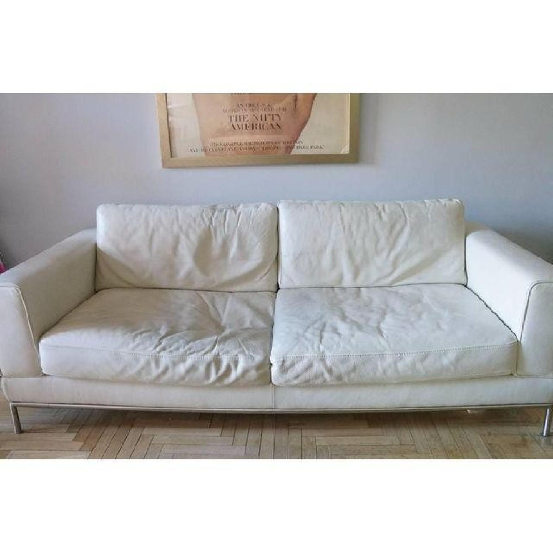 Natuzzi Leather Sofa - image-2