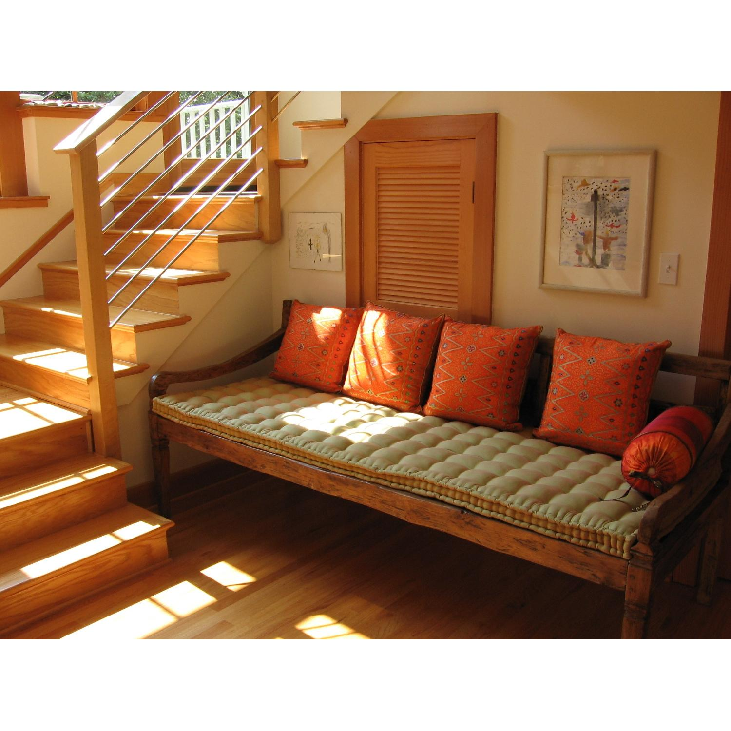 Antique Handmade Bali Dream Day Bed - image-1