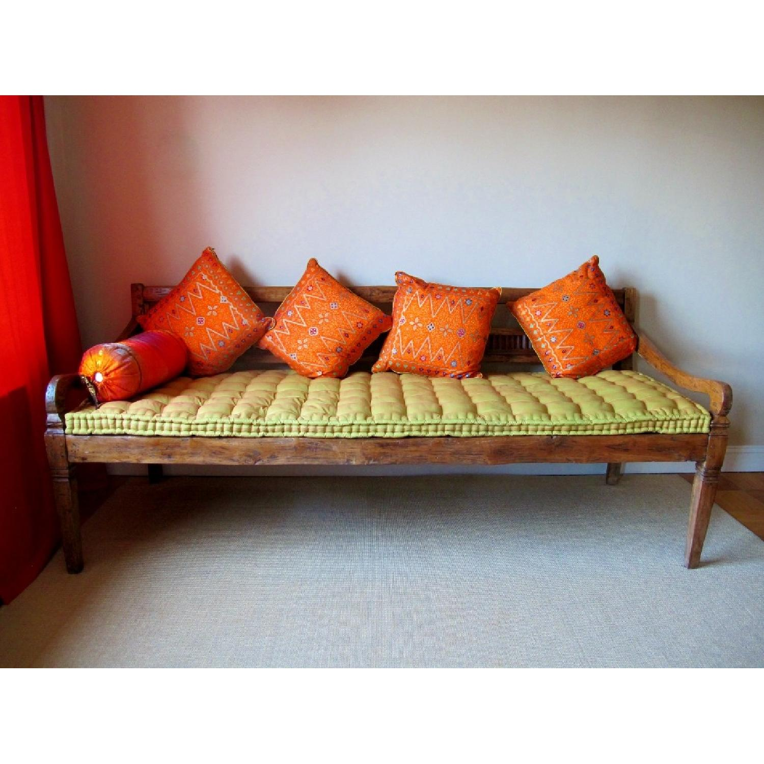 Antique Handmade Bali Dream Day Bed - image-2