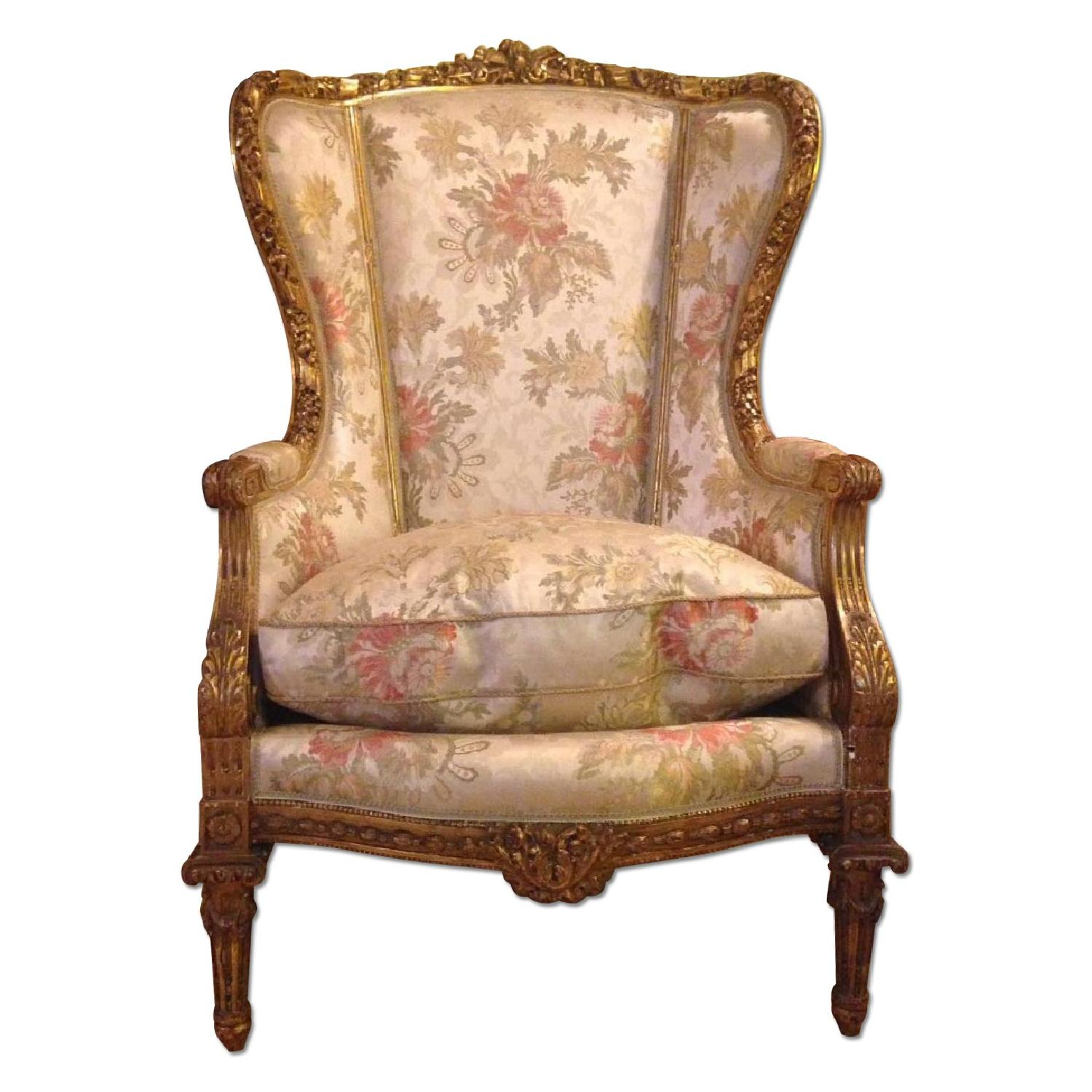 Louis XV Berger Chair - image-0