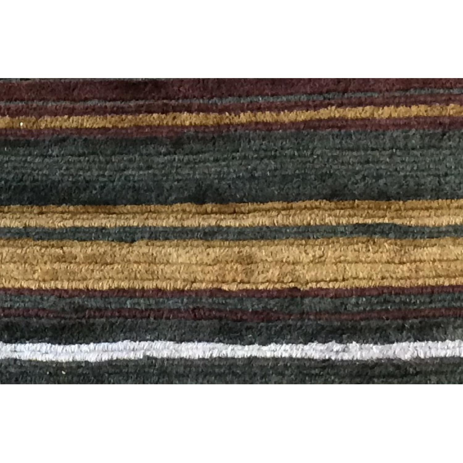 Crate & Barrel Hand Knotted Wool Rug - image-2