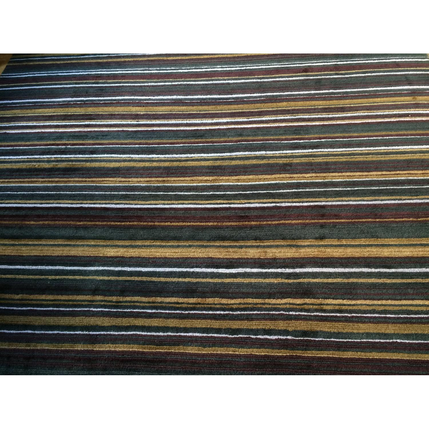 Crate & Barrel Hand Knotted Wool Rug - image-3