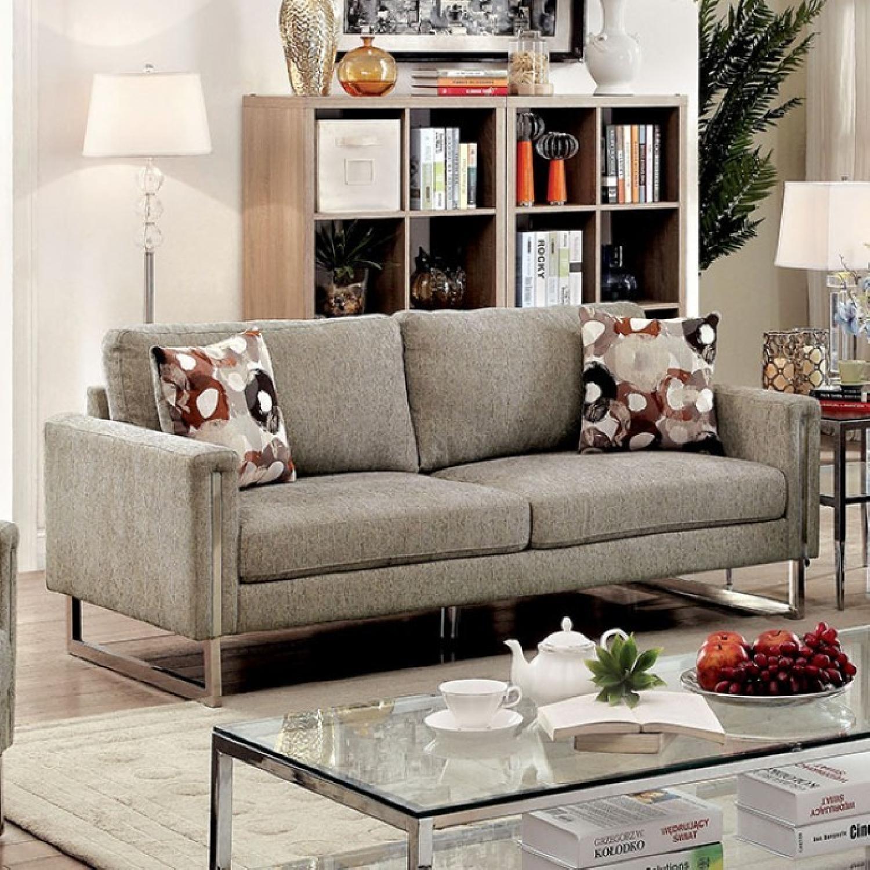 Furniture of America Lauren II Sofa - image-1