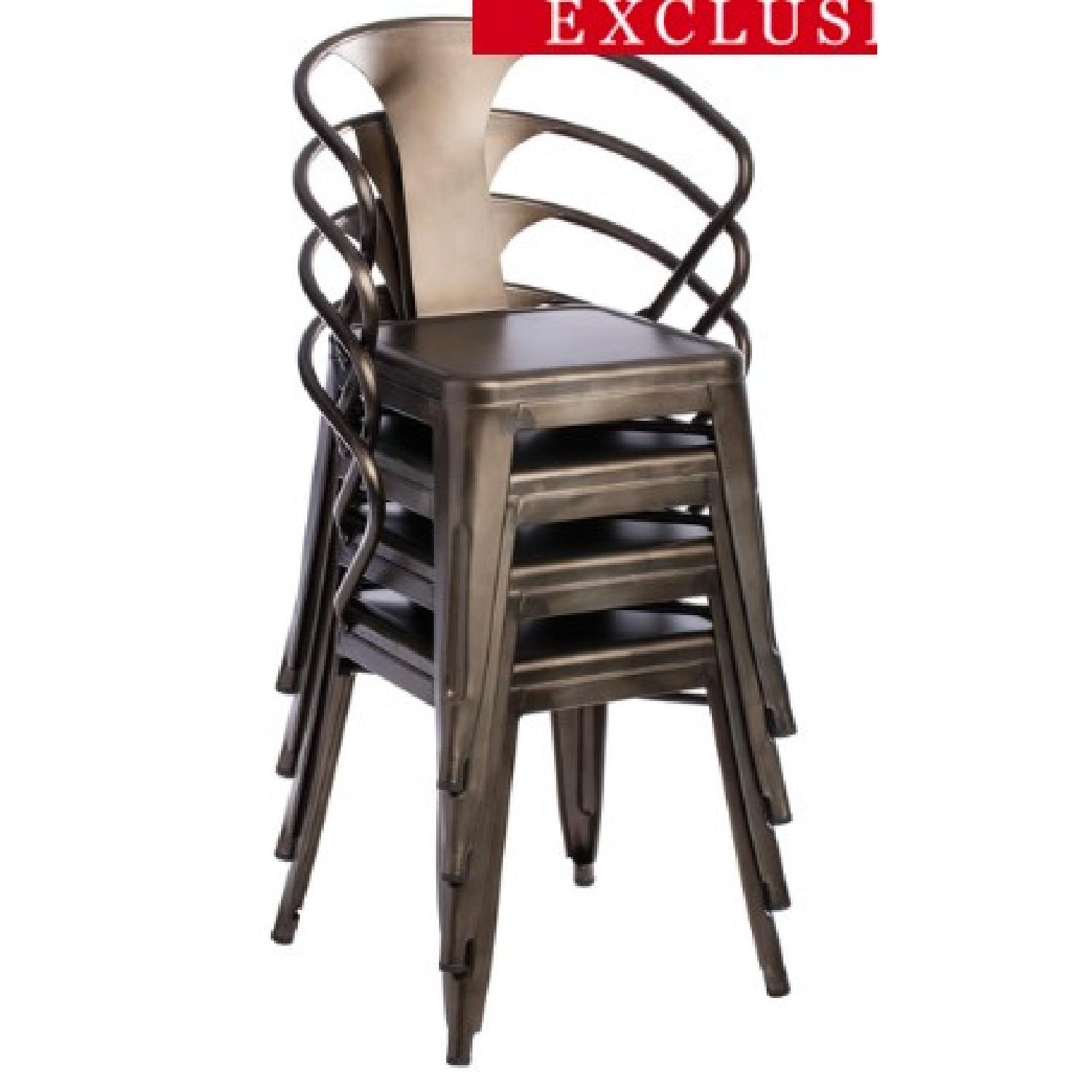 Vintage Tabouret Stacking Chairs - image-6