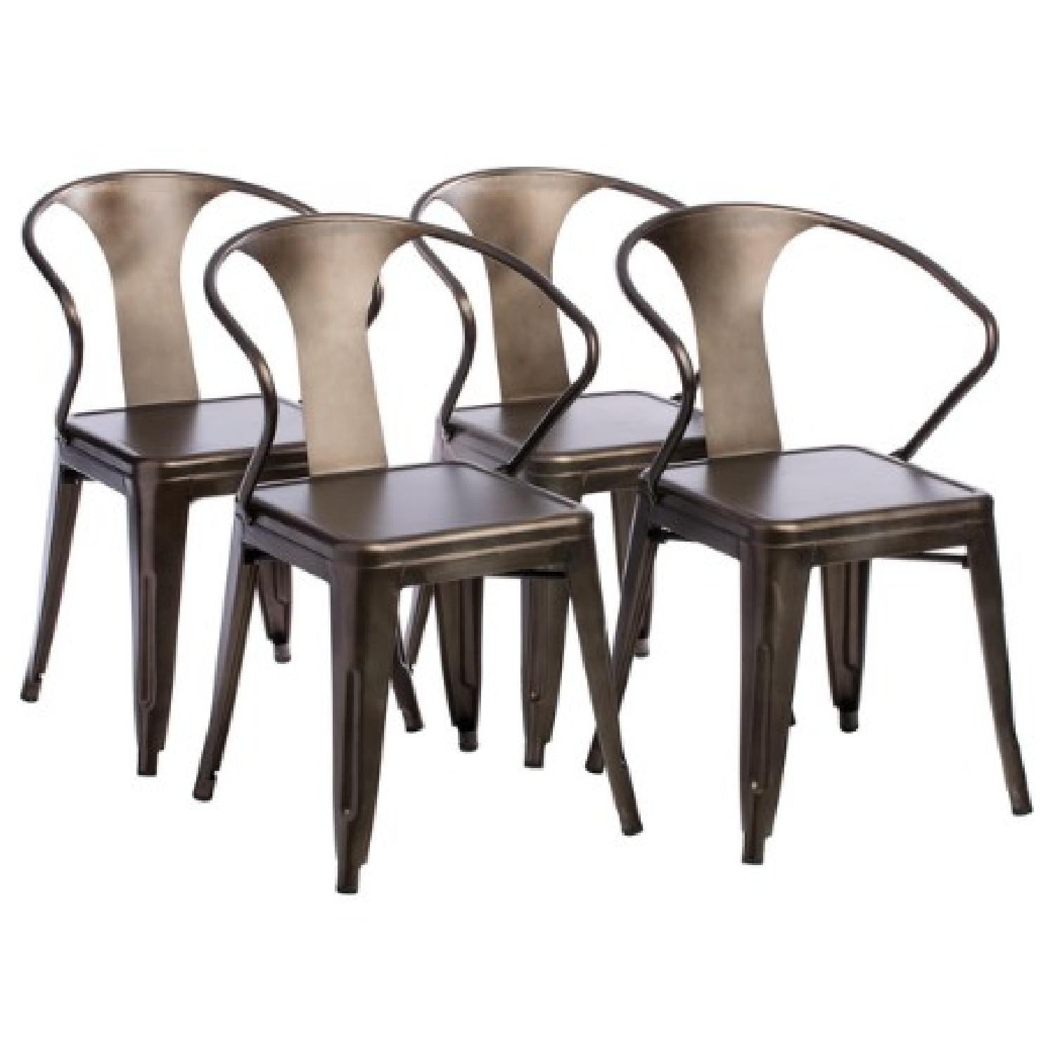 Vintage Tabouret Stacking Chairs - image-7