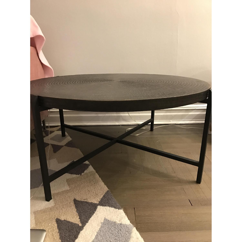 Crate & Barrel Sanskrit Coffee Table - image-2