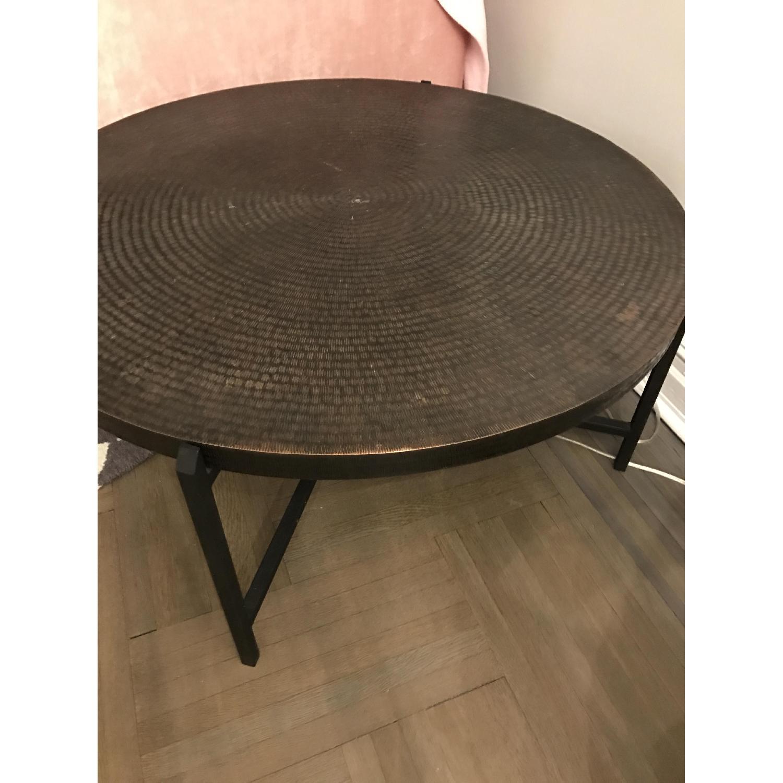 Crate & Barrel Sanskrit Coffee Table - image-4