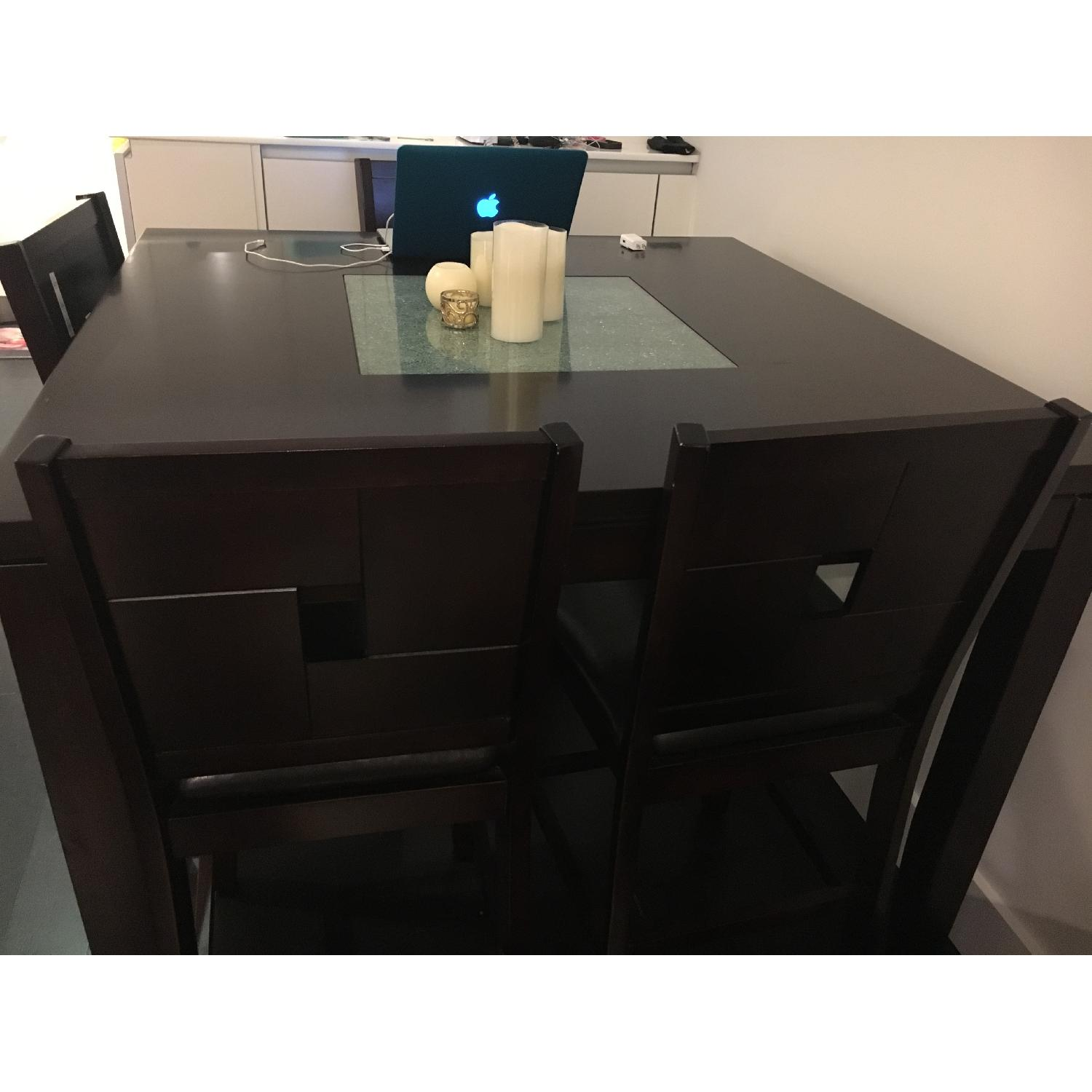 Dining Table w/ 4 Chairs + 1 Bench - image-1