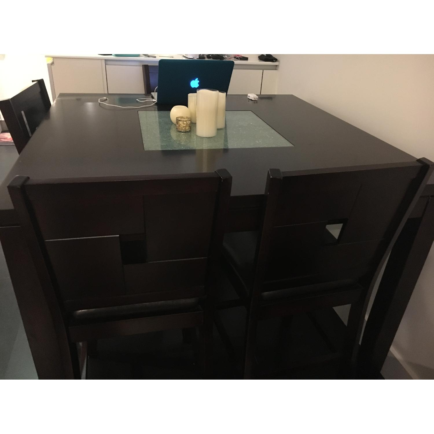 Dining Table w/ 4 Chairs + 1 Bench - image-3