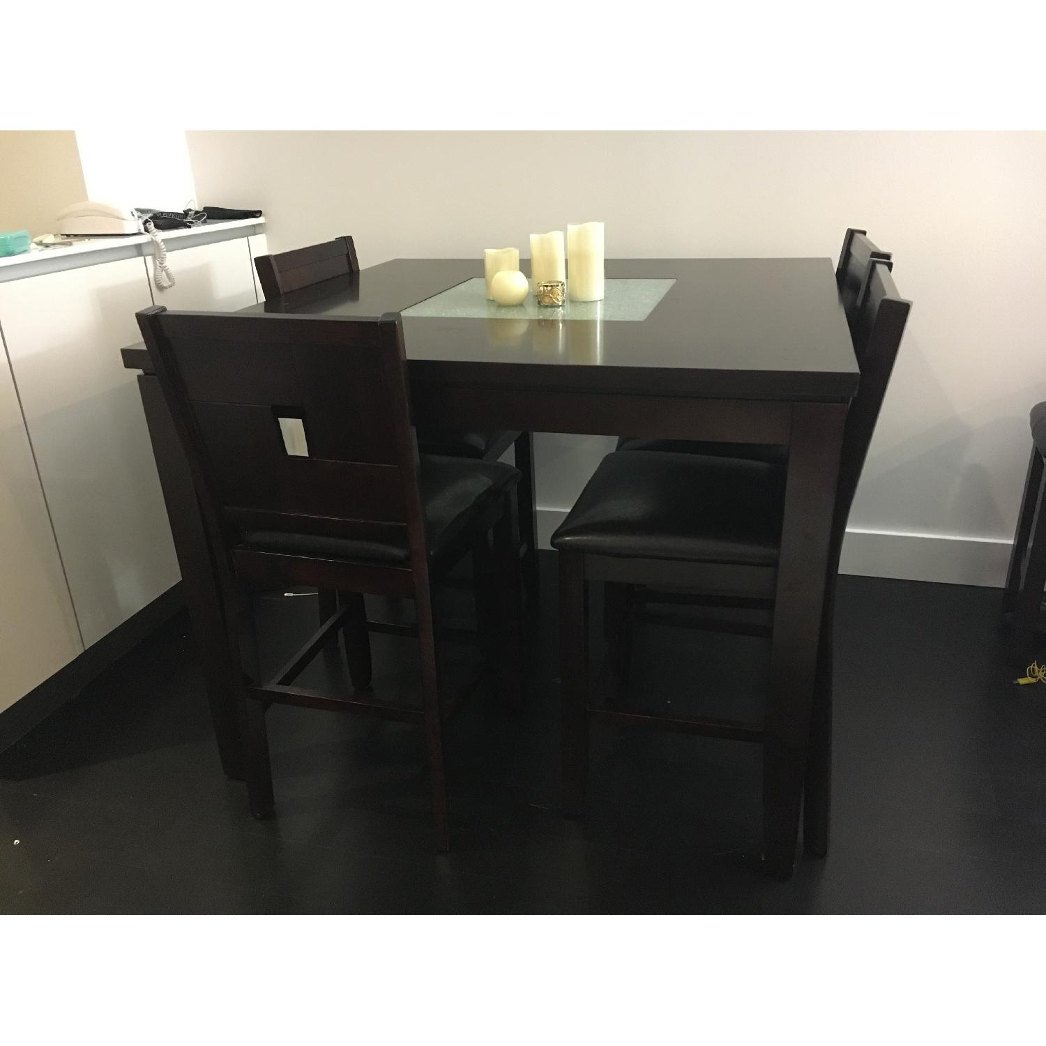 Dining Table w/ 4 Chairs + 1 Bench - image-4