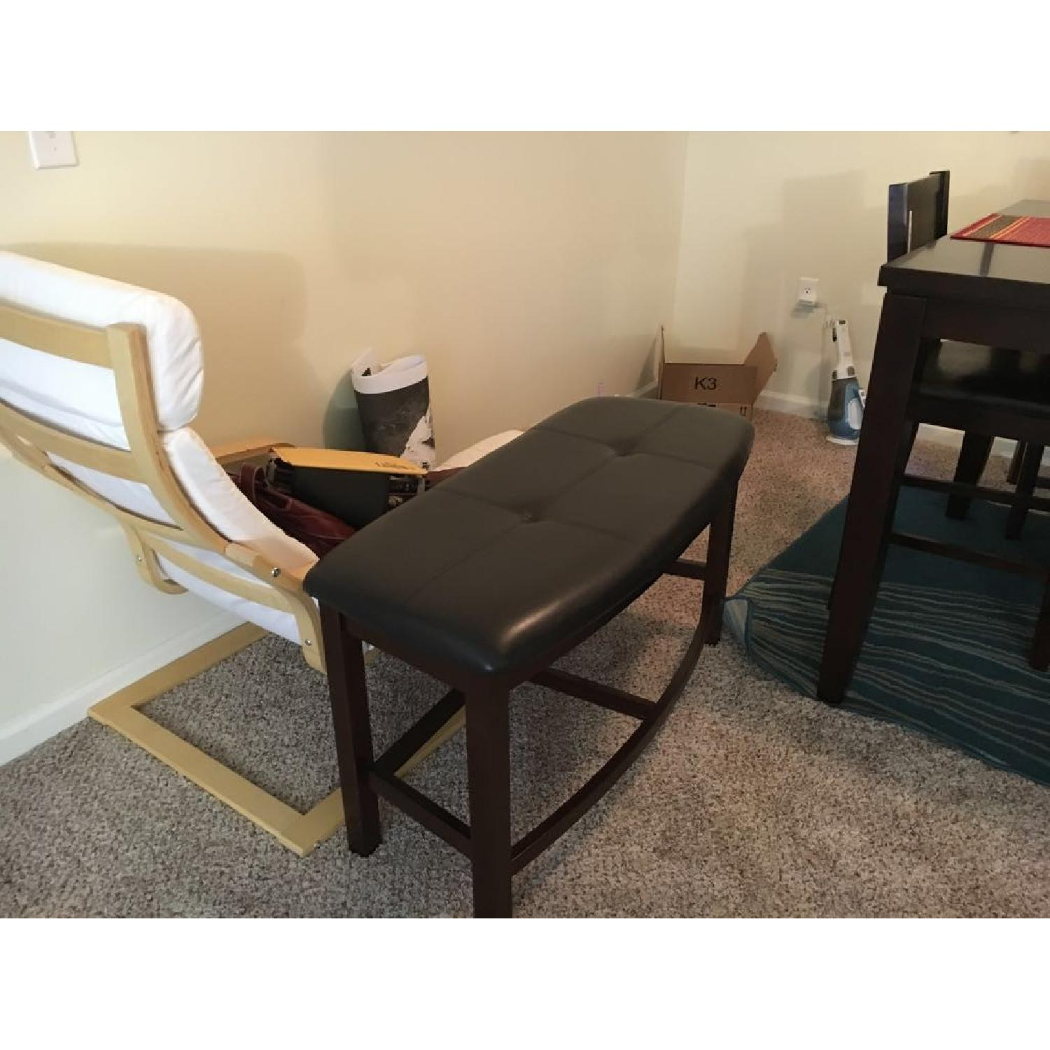 Dining Table w/ 4 Chairs + 1 Bench - image-7