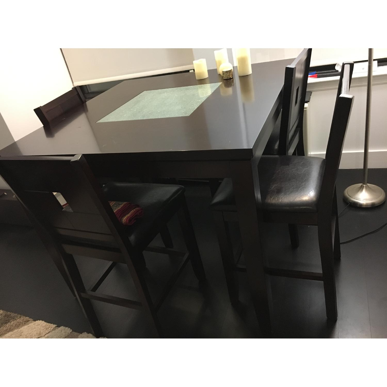 Dining Table w/ 4 Chairs + 1 Bench - image-10