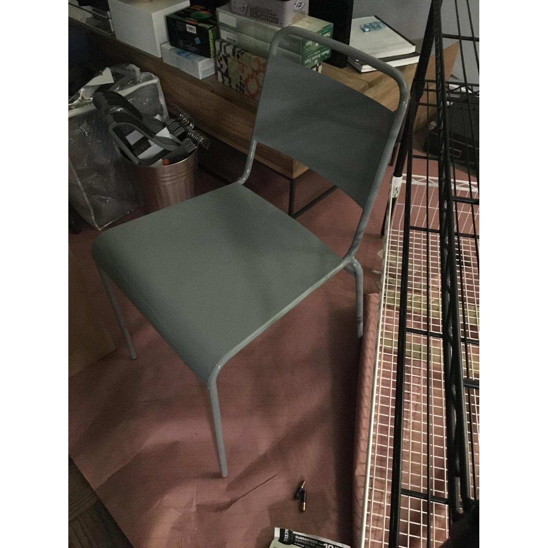Gray Desk Chair - image-1