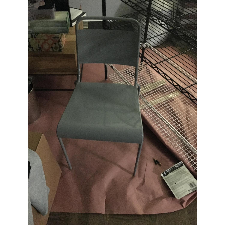 Gray Desk Chair - image-2