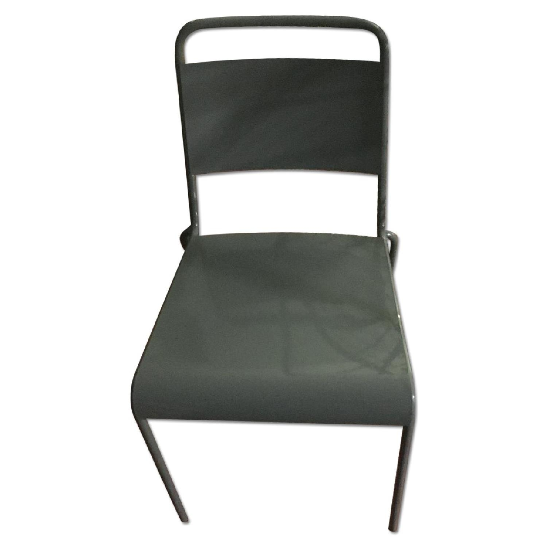 Gray Desk Chair - image-0