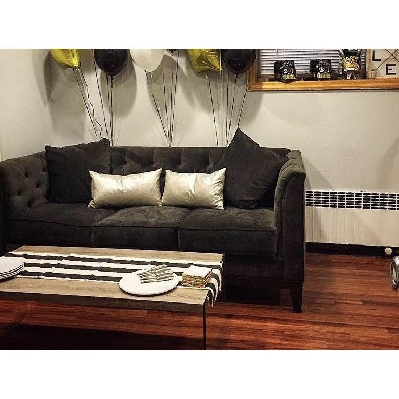 Macy's Giselle 3 Seat Sofa - image-4