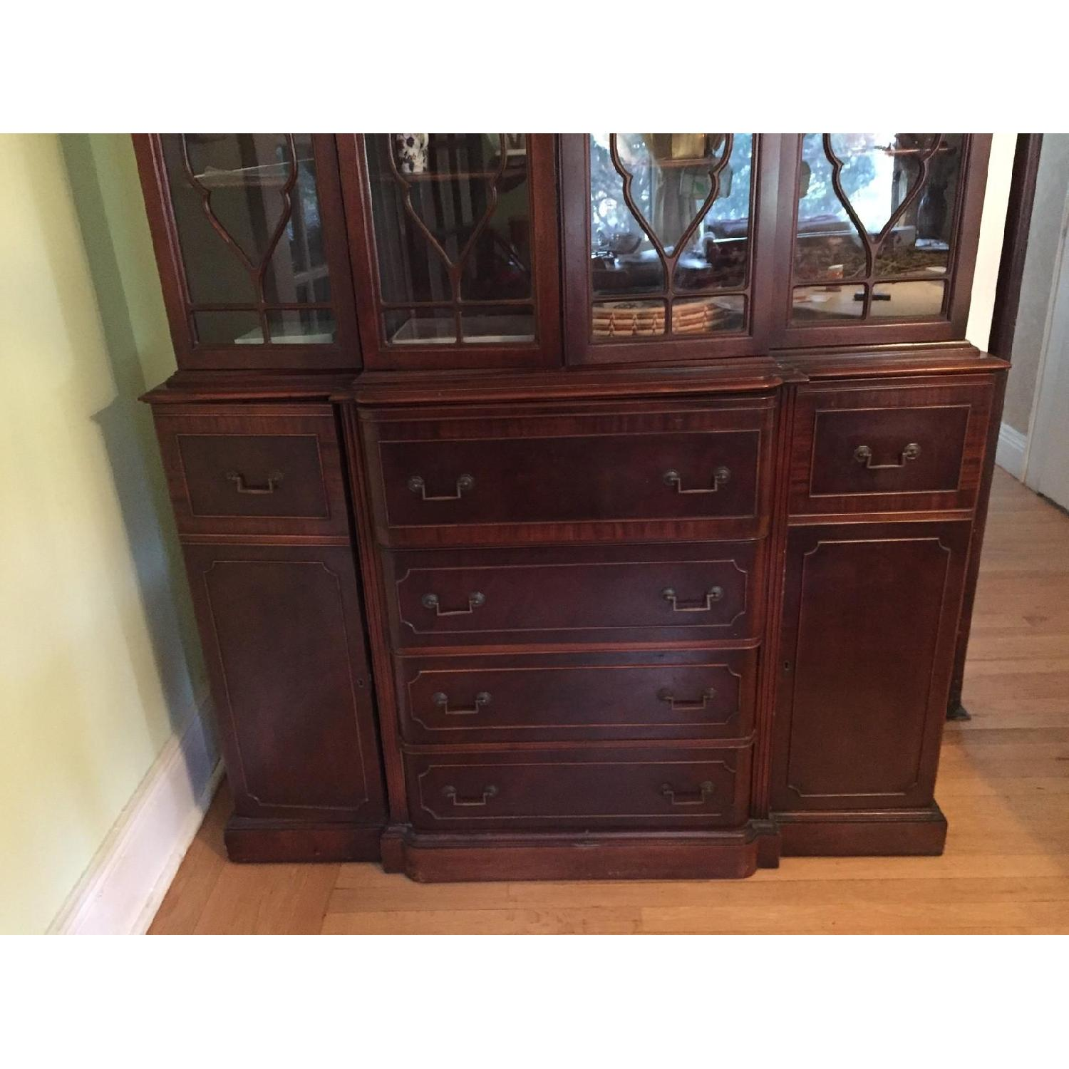 Maddox Colonial Reproduction Secretary/Breakfront - image-4