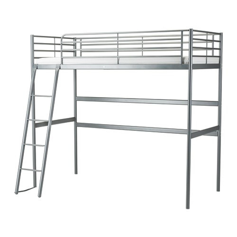 Svarta Loft Bed Frame - image-0