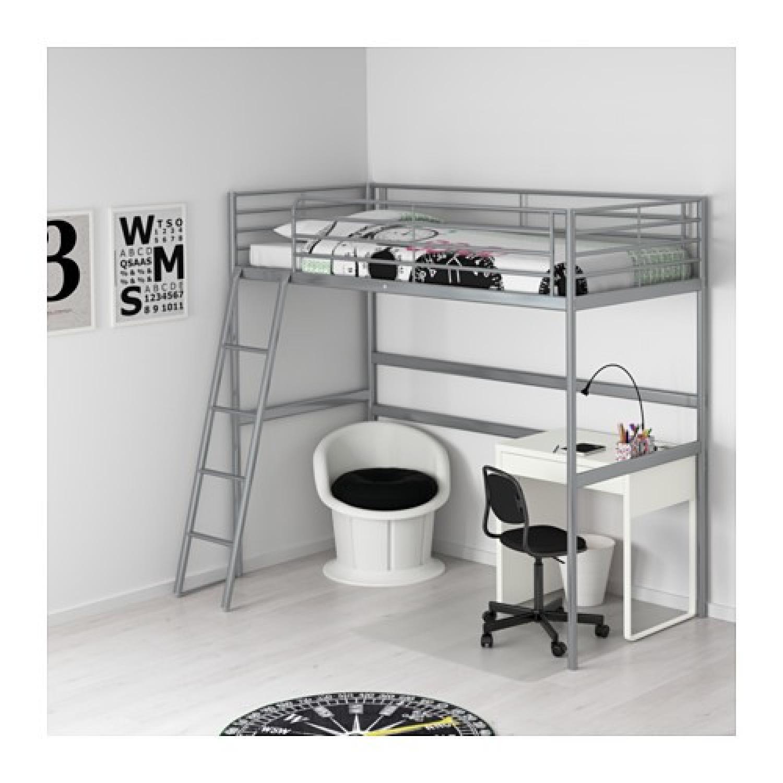 Svarta Loft Bed Frame - image-1