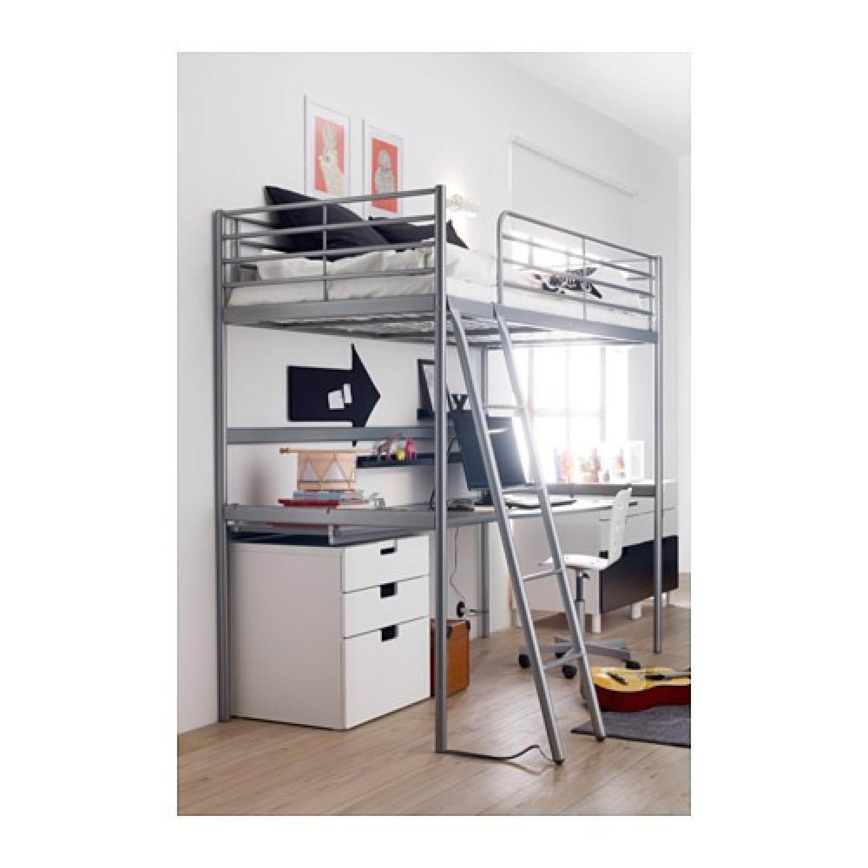 Svarta Loft Bed Frame - image-2