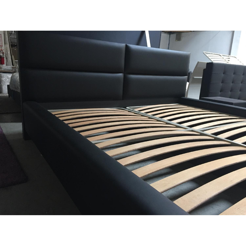 Lazzoni Black King Size Bed Frame - image-5