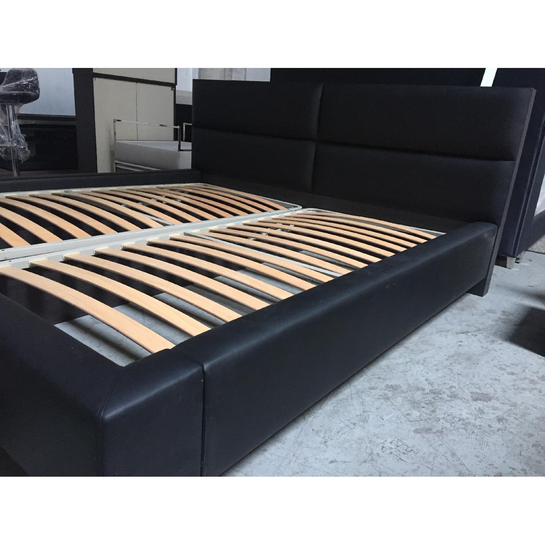 Lazzoni Black King Size Bed Frame - image-10