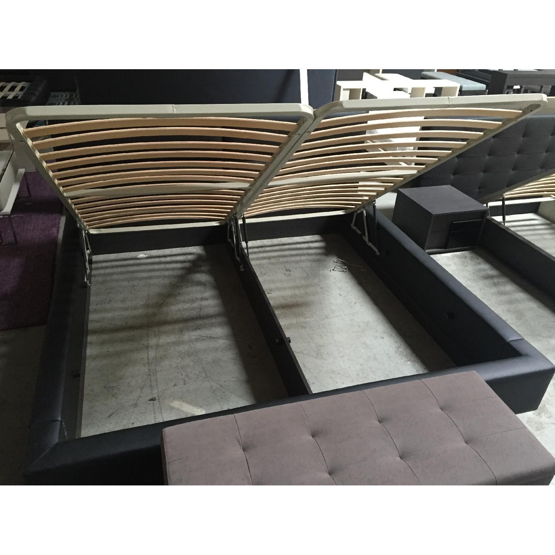 Lazzoni Black King Size Bed Frame - image-12
