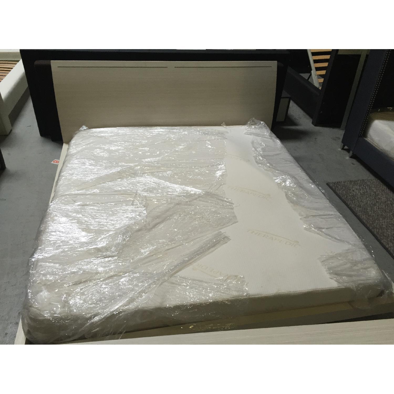 Lazzoni White King Size Bed Frame - image-2