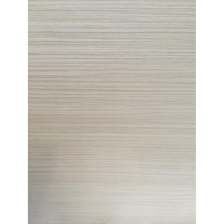 Lazzoni White King Size Bed Frame - image-4