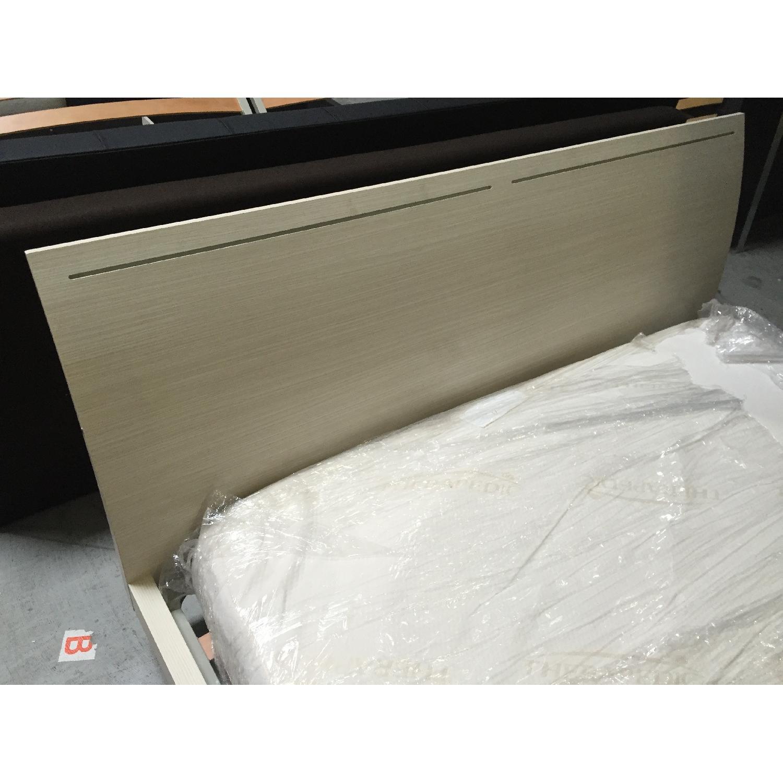Lazzoni White King Size Bed Frame - image-5