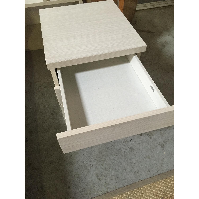 Lazzoni White Nightstand - image-6