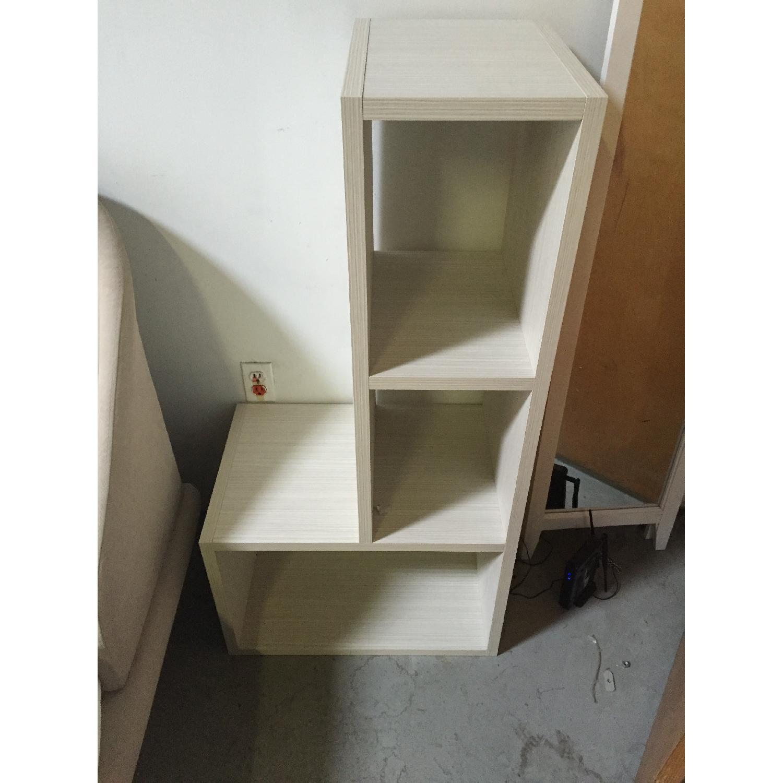 Lazzoni White Bookshelves - image-1