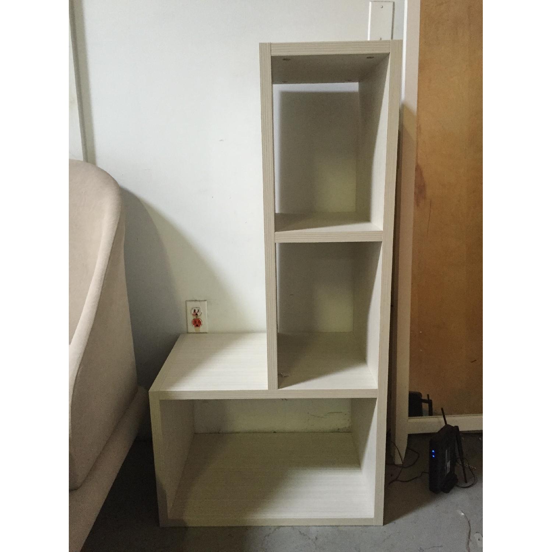 Lazzoni White Bookshelves - image-2