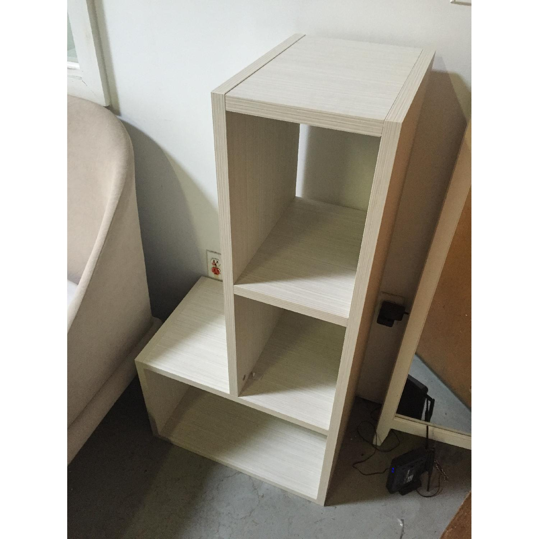 Lazzoni White Bookshelves - image-4