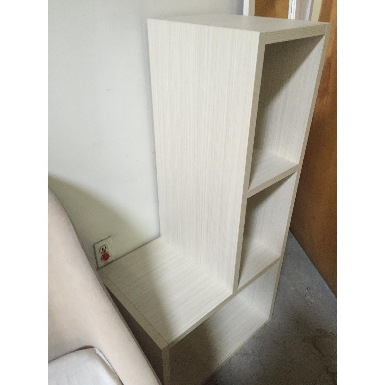 Lazzoni White Bookshelves - image-6