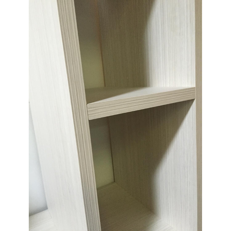 Lazzoni White Bookshelves - image-7