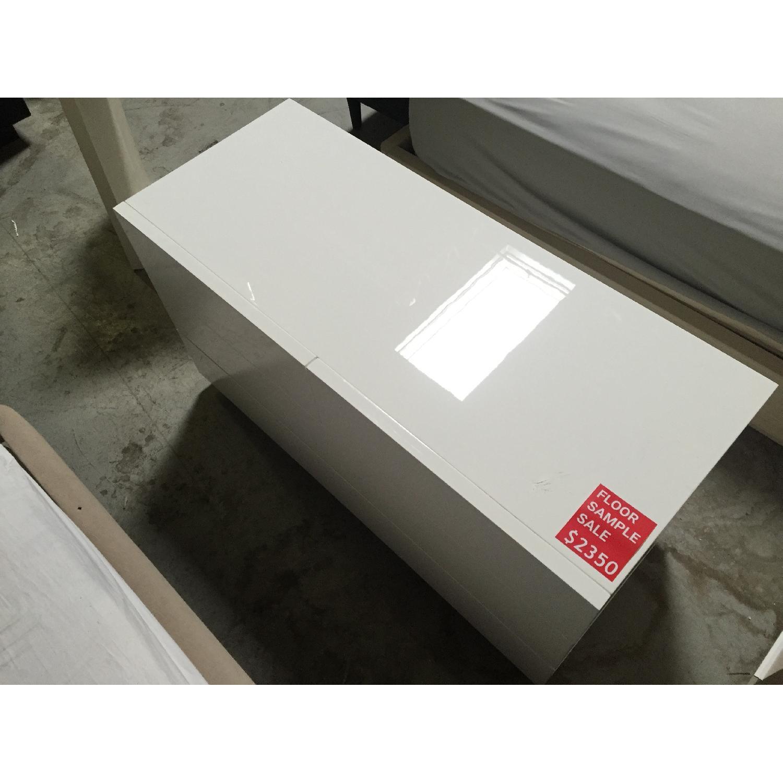 Lazzoni White Dresser - image-3